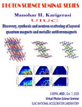 Discovery, synthesis and neutron scattering of layered quantum magnets and metallic antiferromagnets