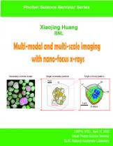 Multi-modal and multi-scale imaging with nano-focus X-rays