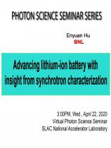 Advancing lithium-ion battery with insight from synchrotron characterization