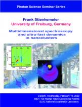Multidimensional spectroscopy and ultra-fast dynamics  in nanoclusters