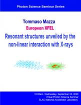 Resonant structures unveiled by the non-linear interaction with X-rays