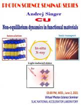 Non-equilibrium dynamics in functional materials