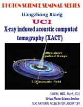 X-ray induced acoustic computed tomography (XACT)
