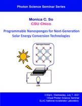 Programmable Nanosponges for Next-Generation Solar Energy Conversion Technologies