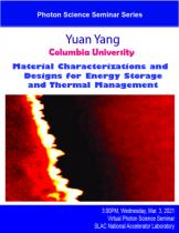Material Characterizations and Designs for Energy Storage and Thermal Management