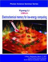 Electrochemical memory for low-energy computing