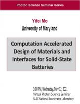Computation Accelerated Design of Materials and Interfaces for Solid-State Batteries